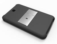 Чехол для планшета Newest aluminum keyboard case for Galaxy Tab3. 7 inch P3200 P3210, Ultra Slim Aluminium Bluetooth Keyboard case for Tab.3 P3200
