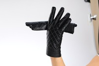 Женские перчатки из кожи Korean version of the leather gloves, sheepskin gloves fall 2013 new Ms. thick warm leather gloves