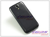 "Мобильный телефон i9500 L S4 quad core android phone MTK6589 with leather case Camera 8.0MP 5.0"" IPS screen cell Phones"