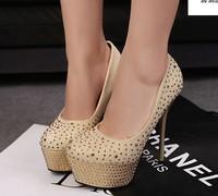 Туфли на высоком каблуке Dec-water diamond, T stage show shoes, woman platform pumps, female high heels, ladies sexy heorshe, ship