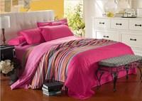Постельные принадлежности Cartoon bedding set, Reactive Printed Microfibre 4PCS/set Duvet Cover Set include bed sheet, bedspread, pillowcase