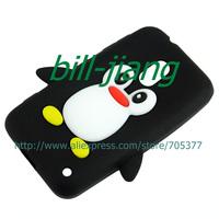 Новый милый красивый пингвин мультфильм мягкий силиконовый чехол для nokia lumia 620