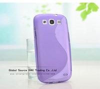 Чехол для для мобильных телефонов High quality TPU back case for Samsung i9300 transparent silicon case for i9300 handbag back cover for galaxy s iii