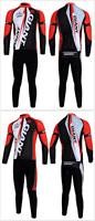 высокое качество зимой долго Джерси нагрудник штаны тепловой флисовая одежда гигантских команды