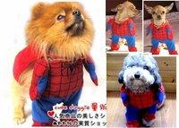 Одежда для собак PET clothing DOG CAT cloth Apparel spiderman costume show cute