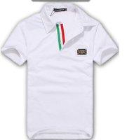 красный и зеленый Ветер обрезки кардиган деловые костюмы шеи футболку + мужские короткие t рубашка slim fit, рубашки поло