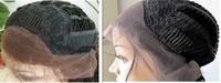 Бразильский дешевые кружева фронта парик с средней части регулируемые парик крышкой