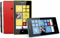 Мобильный телефон Hot cheap phone unlocked original Nokia Lumia 520 windows wifi 3G 8MP. camera TouchScreen GPS smart mobile phone