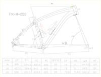 Раму велосипеда  acb050