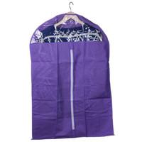 Домашний текстиль 1PCS 58*120CM Home Dustproof Storage Violet Protector Non-woven Fabrics Dress Clothes Garment Suit Cover Bags