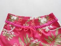 Женские пляжные шорты HOT! New Sexy Fashion Rosepink Leaf Printed Beach Shorts Borad Shorts Fashion Shorts