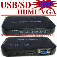 HDD - плеер Best seller Advertising Display Media Digital Signage Player With HDMI AV VGA output MKV FLV F4V format 1920*1080P