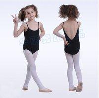 Girls Leotard! Fairy dance Tutu! Girls Ballet Dance Dress SZ 3-4 Black Leotard Costume, Free shipping!