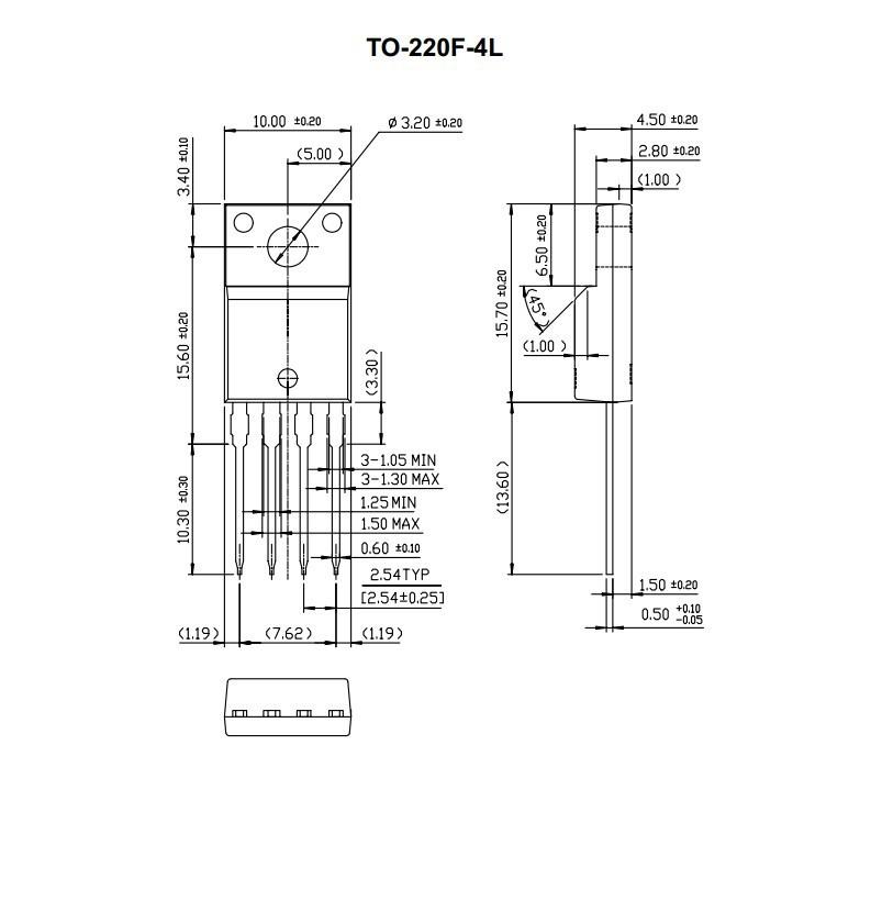 5l0380r fairchild to 220f 4 new and original stock