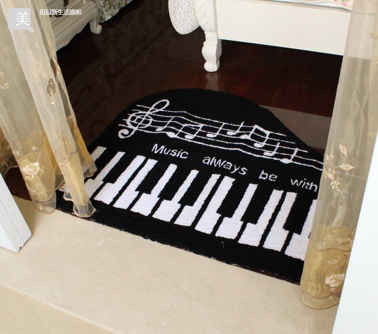 Free Shipping Hot Sale 5pcslot Piano Carpet Anti Slip Mat