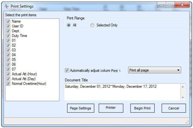 Realand Fingerprint Time Attendance Tft Time Recorder Id