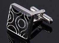 MOQ 1pair novely crystal men's fashion Cufflinks stickpin