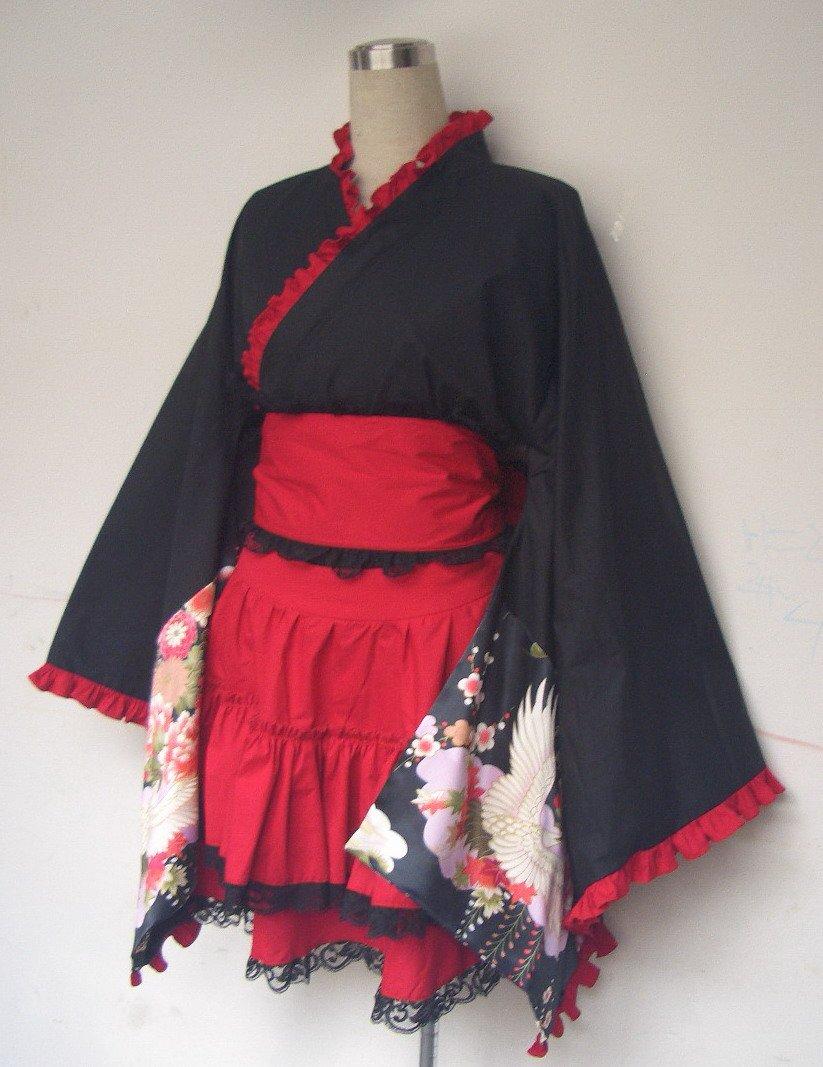 ugly women with attractive men kimono