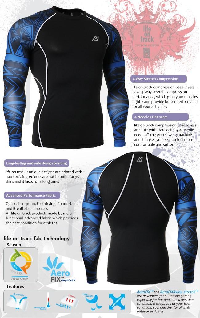 FIXGEAR CPD//P2L-B2 SET Compression Shirts /& Shorts Skin-tight MMA Training Gym