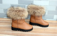 2012 winter new women's snow boots, plus cotton/platform shoes/heavy-bottomed short boots!