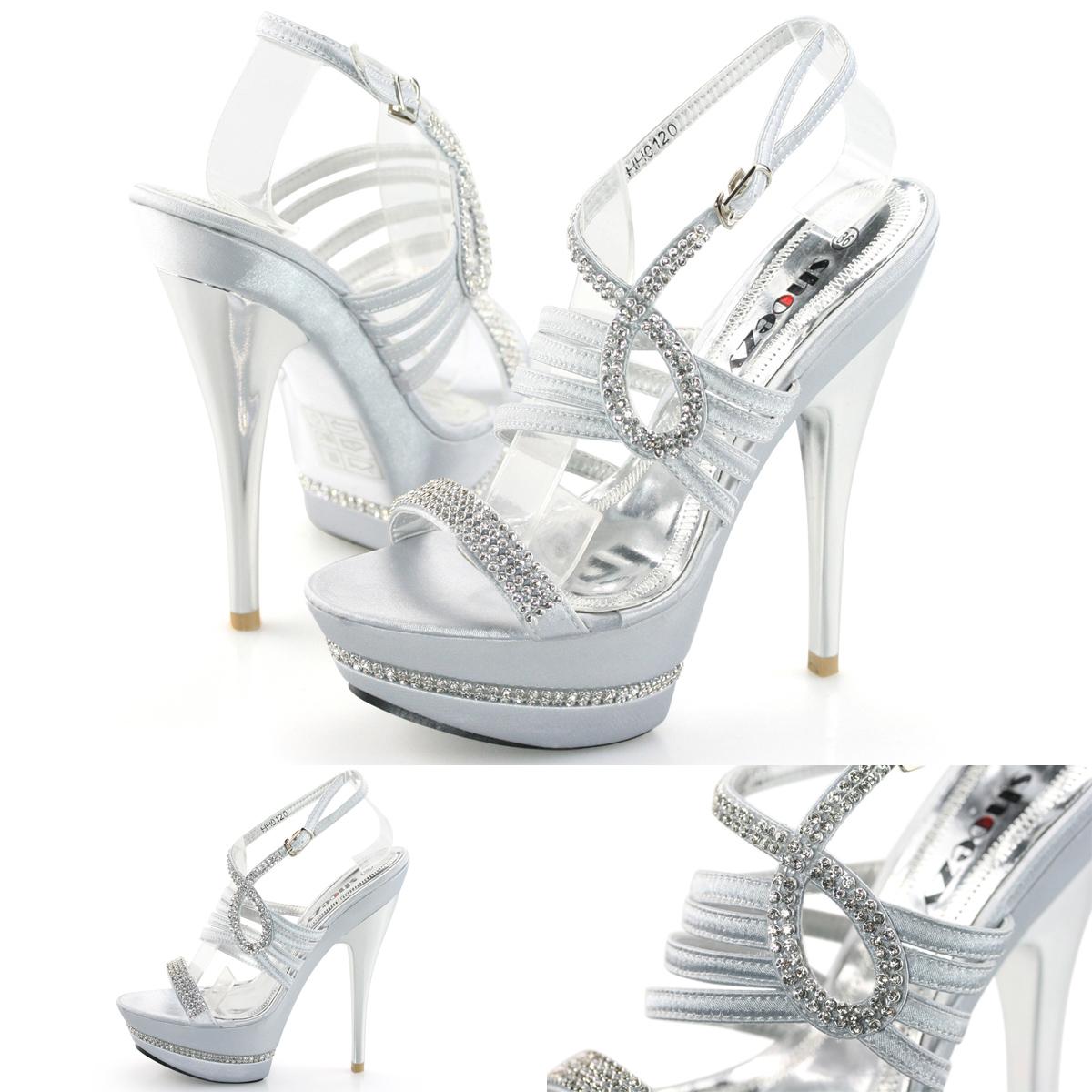 Silver High Heels Australia