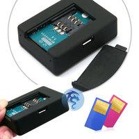 Специализированный магазин Quad-Band Mini GSM/GPRS/GPS Tracker LBS Location Based Service Tracker Audio Bug Monitor with Sound-control Dialing /SOS