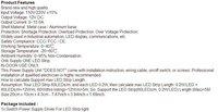 высокое качество 12В 15А 180Вт переключатель питания питания драйвер для дисплея светодиодная лента 220v/110v