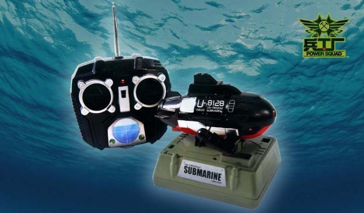 подводная лодка с камерой на радиоуправлении