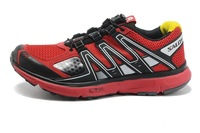 Мужская обувь New Style Salomon outdoor anti-skidding running shoes men athletic shoes size 7-12 in stock one piece fast