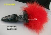 Игрушка для анального секса wild 3.5*10cm stimulator anal rabbit tail anal plug butt plug anal sex toy for women adult toy B31