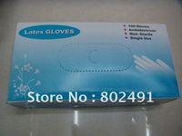 Защитные перчатки Low supply disposable gloves latex-9