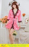 Секс товары-ограниченное по времени новые кимоно моды 5 цвета костюм пижамы белье пижамы одеяние Сексуальное женское белье