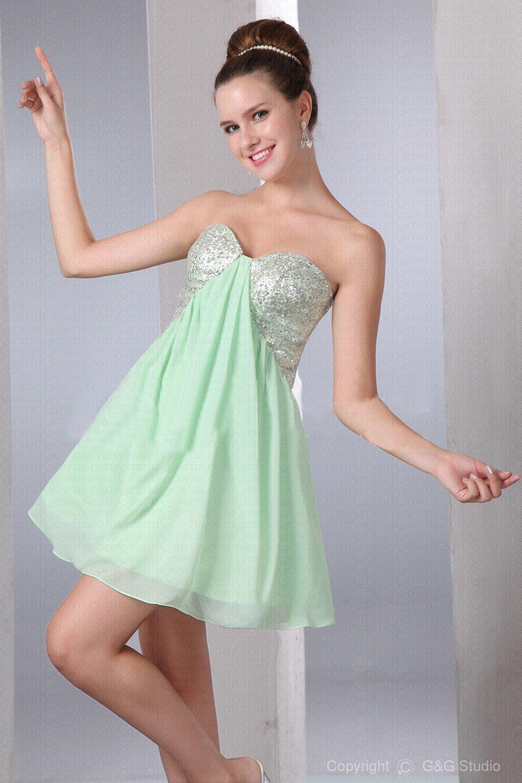 Light green cocktail dresses – Dress blog Edin