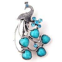 Брошь Fashion Retro Resin Peacock The ninth type Brooch nice gift jewelry -X0017