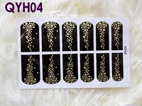 Товары для макияжа MOQ is $10 3 d crystal convenient nail polish diamond sticker imitation drill bright pink nail art applique full stick