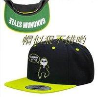 Женская бейсболка KANGNAM STYLE flat brimmed hat snapback adjust the hip-hop hat hiphop hip-hop cap baseball cap 9style