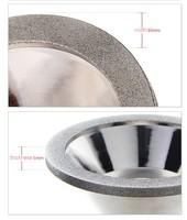 320# 100mmw * 35 мм h алмазного шлифовального круга, шлифовальный