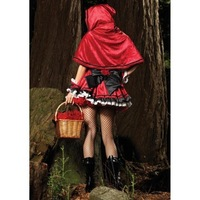 Рекламный костюм Limited Edition Deluxe Women's Sexy Little Red Riding Hood Hallowmas Christmas Costume