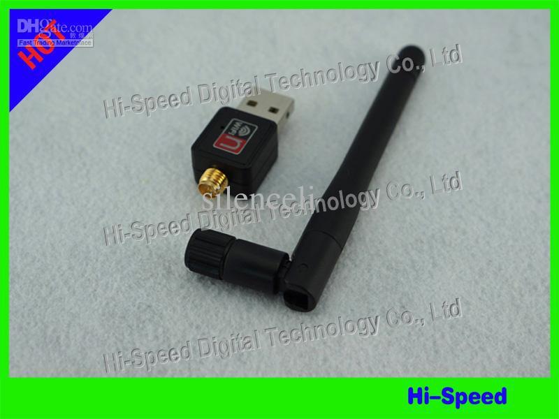 5pcs ! Mini 150M(150Mbps) USB WiFi Wireless Network Card 802.11 n/g/b LAN Adapter with Antenna C1289