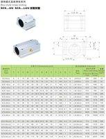 Механические детали for 4pcs x SC16UU + 8pcs SCS20UU Linear Shaft Ball Bearing Pellow Bolck Linear unit for CNC X Y Z
