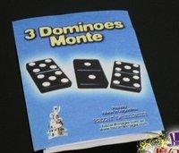 Игрушка для фокусов King magic 3 3 dominoes monte