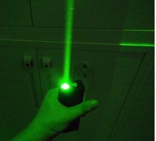 Green laser man show 6