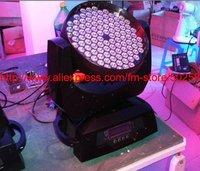 10-90 degree auto adjustment zoom led moving head light, 108*3w RGBW zoom led moving head light, zoom led stage light