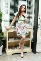 Женское платье New Arrival PInk/Beige/Seafoam M13032208