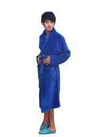 Мужской халат Autumn and winter thicking Male models Coral cashmere bathrobe, the best-selling modelswomen in China