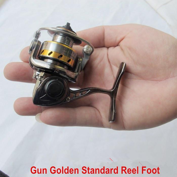 mn100 fishing reel world's smallest full metal mini ice shore, Soft Baits