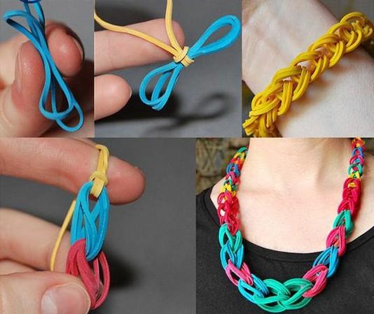 Rubber band bracelets loom