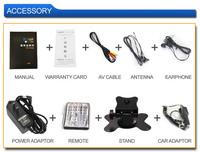 7-дюймовый tft ЖК-монитор с tv av вход, поддерживают система заднего вида автомобилей, система наблюдения