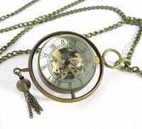 Наручные часы 4pcs.lot Crystal ball mechanical movement watch, transparent mechanical watch