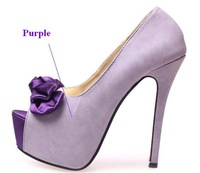Туфли на высоком каблуке silk bowtie style, woman platform pumps, peep toe high heels, heorshe, lady's fishmouth wedding shoes